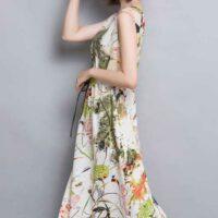 Model Baju Dress Panjang Tema Korea Yang Menarik